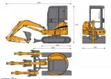 CASE CX31B Mini Excavator