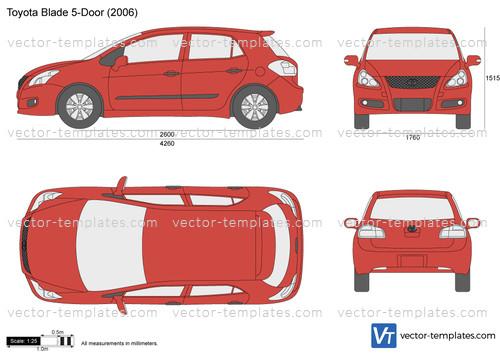 Toyota Blade 5-Door