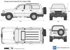 Toyota Land Cruiser 80 VX Limited