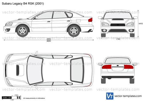 Subaru Legacy B4 RSK