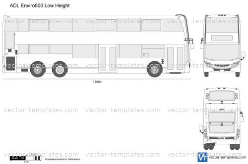 ADL Enviro500 Low Height