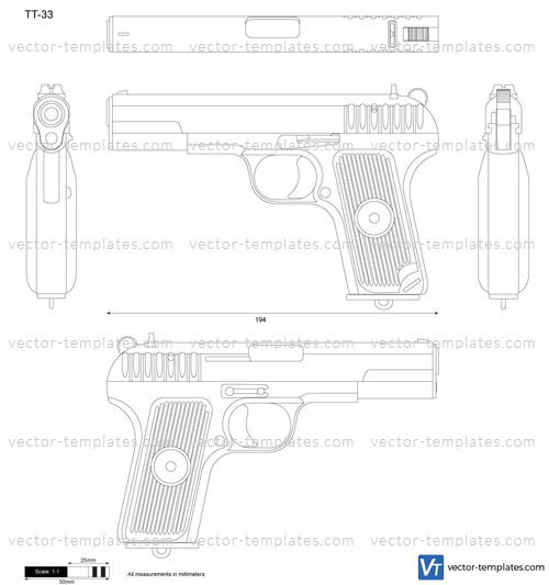 tt 33 diagram manual e books Astra 400 templates weapons pistols tt 33tt 33 diagram 19