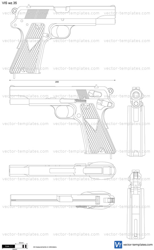 Templates - Weapons - Pistols