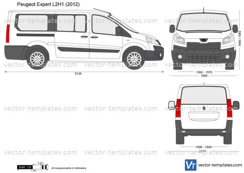 Templates Cars Peugeot Peugeot Expert L2h1