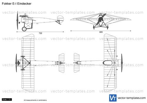 Fokker E-I Eindecker