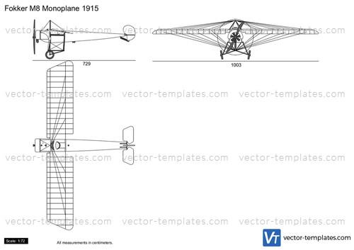 Fokker M8 Monoplane 1915