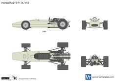 Honda RA273 F1 3L V12