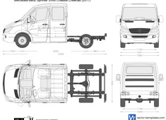 Mercedes-Benz Sprinter SWB Chassis Crewcab