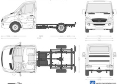 Mercedes-Benz Sprinter SWB Chassis Single Cabin