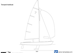 Tempest keelboat