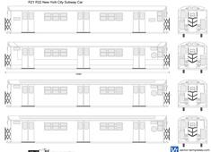 R21 R22 New York City Subway Car