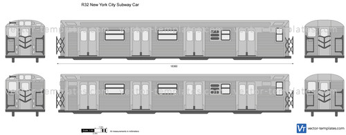 R32 New York City Subway Car