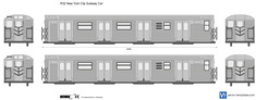 R32 New York City Subway Car