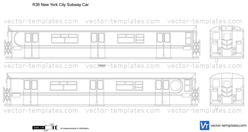 R36 New York City Subway Car