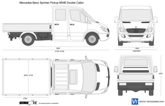 Mercedes-Benz Sprinter Pickup MWB Double Cabin