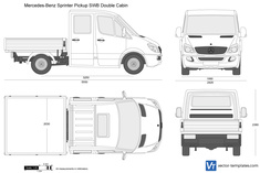 Mercedes-Benz Sprinter Pickup SWB Double Cabin