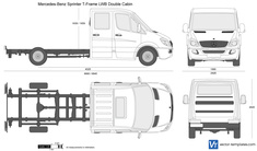 Mercedes-Benz Sprinter T-Frame LWB Double Cabin