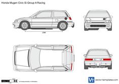 Honda Mugen Civic Si Group A Racing