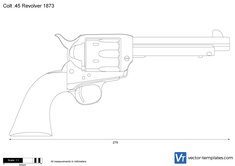 Colt .45 Revolver 1873