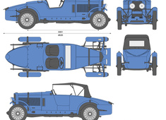 Talbot 110 Brooklands Replica