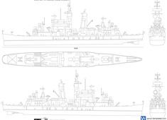 USS CG-10 Albany (Heavy Cruiser)