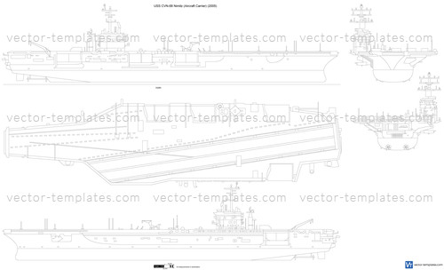 USS CVN-68 Nimitz (Aircraft Carrier)
