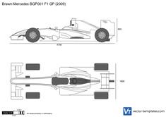 Brawn-Mercedes BGP001 F1 GP