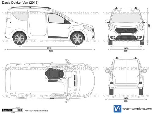 templates - cars - dacia