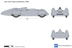 Auto Union Type D streamliner