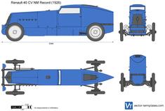 Renault 40CV NM Record