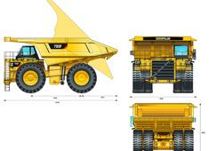 Caterpillar 793F Mining Truck
