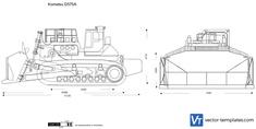 Komatsu D575A