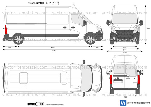Nissan NV400 L3H2