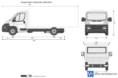 Peugeot Boxer Chassis Box LWB