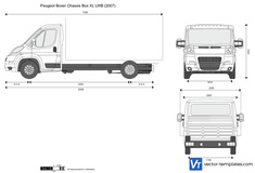 Peugeot Boxer Chassis Box XL LWB