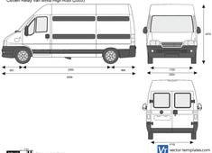 Citroen Relay Van MWB High Roof