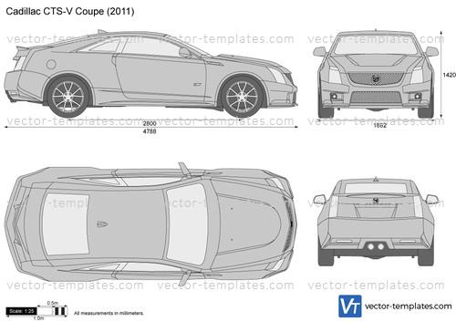 Templates Cars Cadillac Cadillac Cts V Coupe