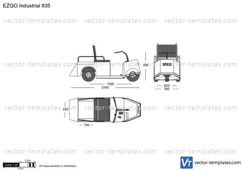 EZGO Industrial 835
