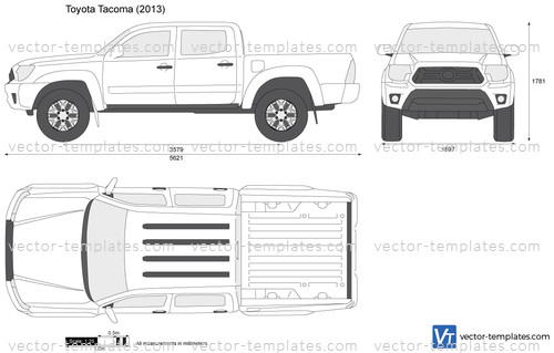 templates - cars - toyota