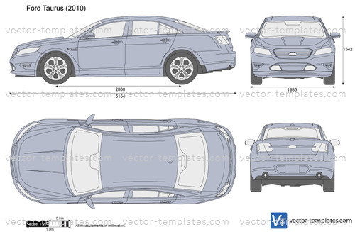 Templates Cars Ford Ford Taurus