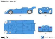 Matra MS670 Le Mans