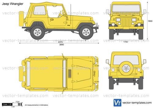 2012 Dodge Ram 1500 Headlights >> Templates - Cars - Jeep - Jeep Wrangler