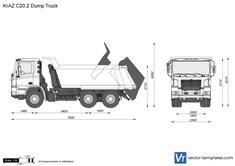 KrAZ C20.2 Dump Truck