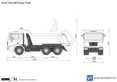 KrAZ C20.2M Dump Truck