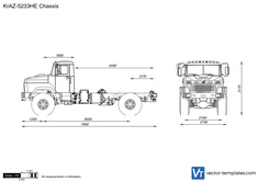 KrAZ-5233HE Chassis