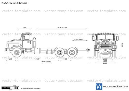 KrAZ-65053 Chassis