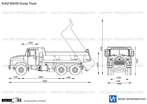 KrAZ-65055 Dump Truck