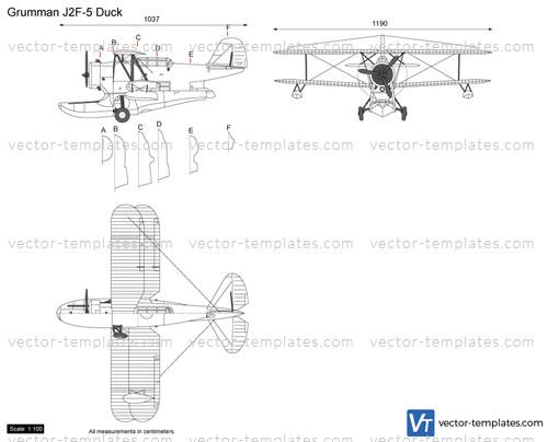Templates Ww2 Airplanes Grumman Grumman J2f 5 Duck