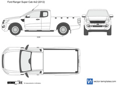 Ford Ranger Super Cab 4x2