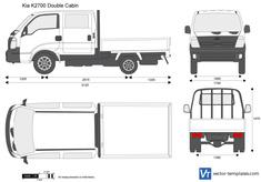 Kia K2700 Double Cabin